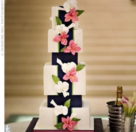 wedding photo - Fondant Wedding Cakes