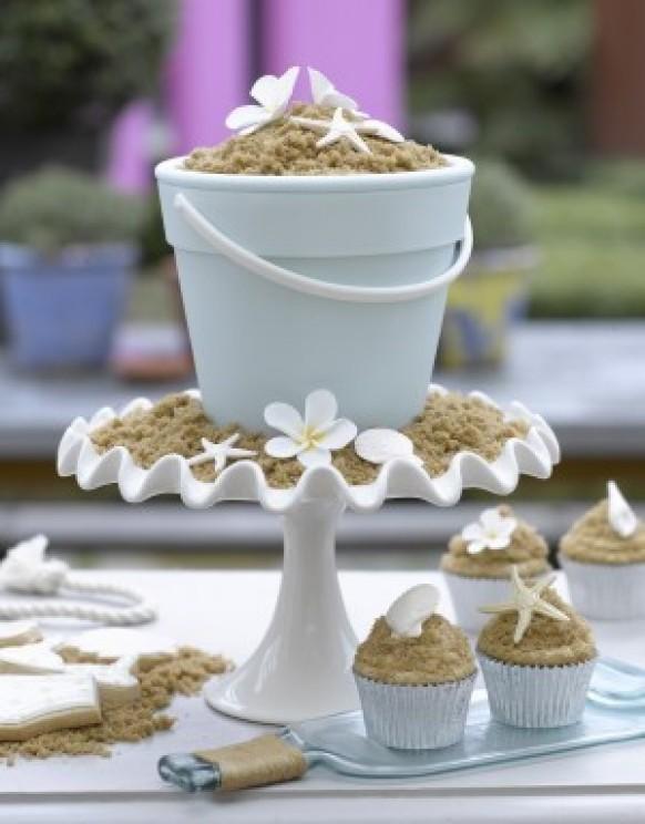 Yummy Beach Wedding Cupcakes Creative For