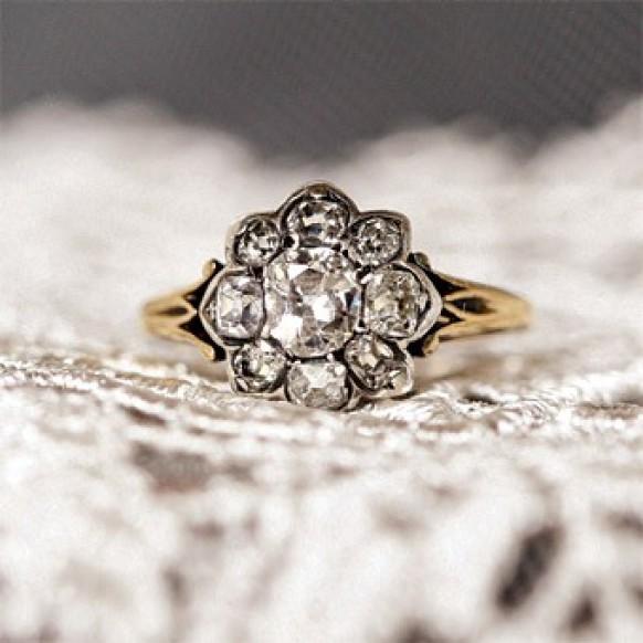 antique wedding ring vintage wedding ring 800885 weddbook - Bohemian Wedding Rings