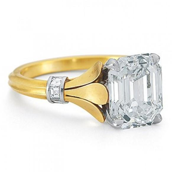 anneau de mariage de diamant de luxe superbe bague de fian ailles 800887 weddbook. Black Bedroom Furniture Sets. Home Design Ideas