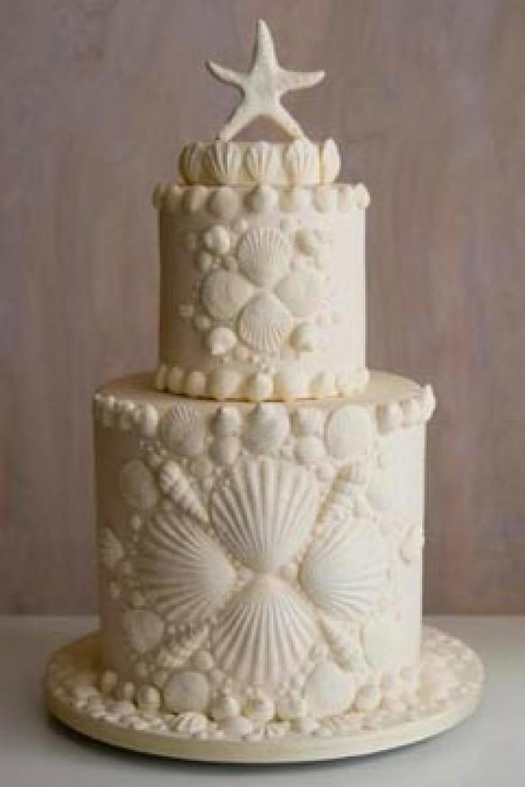 The River Cottage Wedding Cake