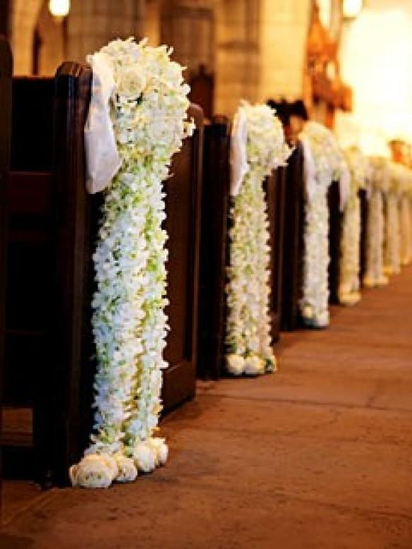 Ceremony wedding aisle decor ideas 804759 weddbook for Aisle decoration for wedding