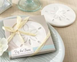 Wedding - Sand Dollar Coaster Favor
