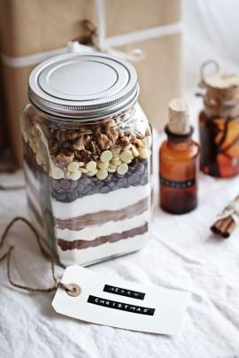 Wedding - Edible Gift Idea: Brownie Mix
