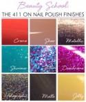 Beauty School: The 411 on Nail Polish Finishes