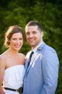 Veronica and Brett's Modern Farm Wedding