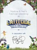 We're off to Latitude…..