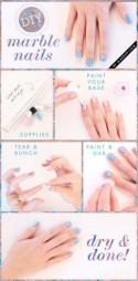 Manicure Monday: Marble Nails