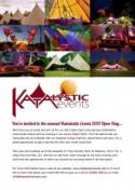 Open Day – Katalystic Events (Friday 30th August 2013)