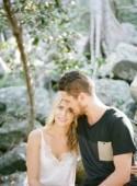 Rebekah and Tristan's Beach Engagement