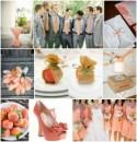 Pretty Peach Wedding Ideas