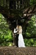 Zoe and Steve's Beautiful Tree Top Wedding
