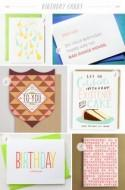 Stationery A – Z: Birthday Cards