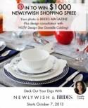 Deck Out Your Digs with NewlyWish & BRIDES Magazine