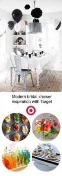 Modern bridal shower inspiration with Target