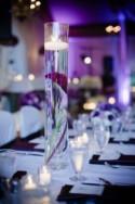 Purple Wedding Centerpieces Decor Ideas