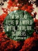 Free Spirited Friday – Hello October!!