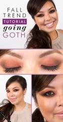 Fall Trend Tutorial: Going Goth
