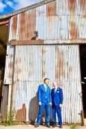 A Down to Earth & Personal Barn Wedding