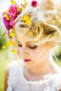 Dreamy Wild Blooms Bridal Editorial