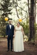 Elise and Denan's Quirky Backyard Wedding