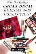 Giveaway: Win the Entire Urban Decay Holiday Collection