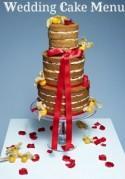 On the wedding cake menu we have…..