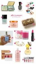 Gifts to Pamper for Holiday Parties