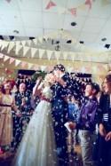 A Colourful DIY Handfasting Village Hall Wedding