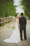 Yellow & Grey Backyard Wedding
