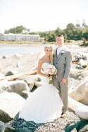 A Romantic Pink Wedding In Campbell River, British Columbia
