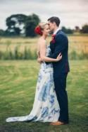 Elegant Red, White and Blue Wedding: Cameron & Lizzy