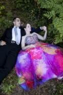 Rainbow Summer Camp Wedding: Sara & Joe