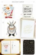 Seasonal Stationery: 2013 Holiday Cards, Part 4
