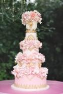 Delightful Wedding Cakes with Romantic Soft Pink Hue