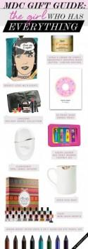 MDC Gift Guide: The Girl Who Has Everything