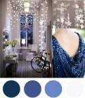 Christmas Colour Palette – Indigo Blue & White