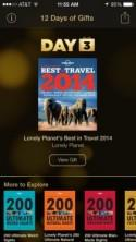 Apple's 12 Days of Gifts – Day 3 is Lonely Planet's Best in Travel 2014