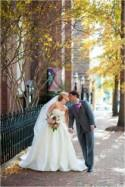 Elegant City Wedding by Rebekah Hoyt Photography