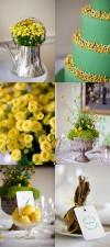 A Lush Green and Yellow Styled Bridal Shoot at the Deer Park Hotel in Devon