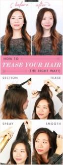 Tuesday Tutorial: How to Tease Your Hair (The Right Way!)