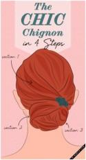 How-To: The Chic Chignon in 4 Steps