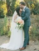 English Garden Inspired Backyard Wedding: Amy + Brian