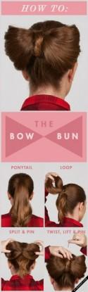 How to: The Bow Bun