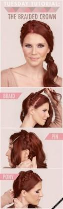 Tuesday Tutorial: The Braided Crown