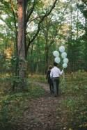 Sunset Balloon Engagement in Canada