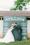 Chenel & Pieter's Blush & Grey Barn Wedding