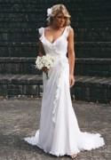 White Ivory Bridal Gown Wedding Dress Custom Size 4 6 8 10 12 14 16 18 20