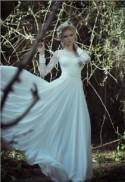 2014 New White/Ivory A-line Long-sleeve Wedding Dress Size 4 6 8 10 12 14 16 18