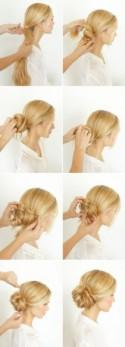 DIY Knotted Bun